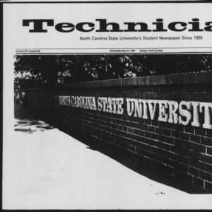 Technician, Vol. 65 No. 86 [88], May 23, 1984
