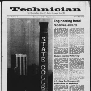 Technician, Vol. 65 No. 90 [91], June 13, 1984