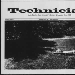 Technician, Vol. 65 No. 91 [92], June 20, 1984