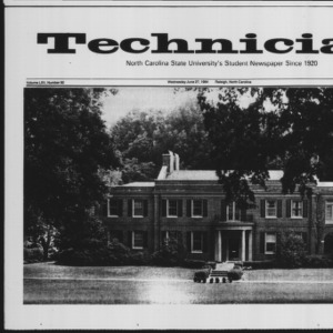 Technician, Vol. 65 No. 92 [93], June 27, 1984