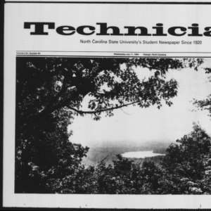 Technician, Vol. 65 No. 93 [94], July 11, 1984