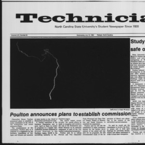 Technician, Vol. 65 No. 94 [95], July 18, 1984