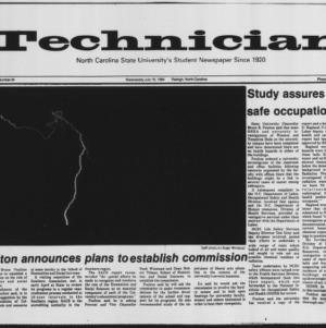 Technician, Vol. 65 No. 94 [95], July 18, 1984