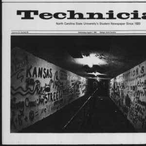 Technician, Vol. 65 No. 96 [97], August 1, 1984
