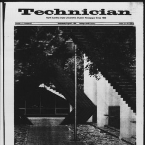 Technician, Vol. 65 No. 97 [98], August 8, 1984