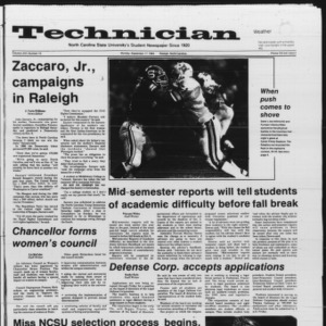 Technician, Vol. 66 No. 10, September 17, 1984