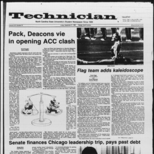 Technician, Vol. 66 No. 12, September 21, 1984
