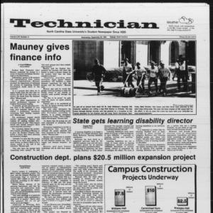 Technician, Vol. 66 No. 14, September 26, 1984