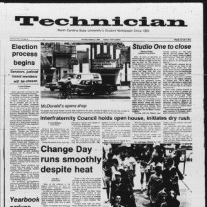 Technician, Vol. 66 No. 2, August 27, 1984