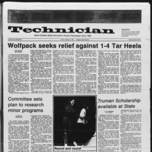 Technician, Vol. 66 No. 23, October 19, 1984
