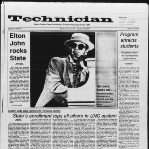 Technician, Vol. 66 No. 33, November 12, 1984