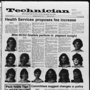 Technician, Vol. 66 No. 34, November 14, 1984
