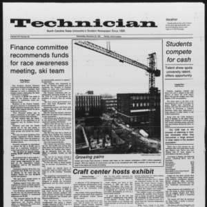 Technician, Vol. 66 No. 39, November 28, 1984
