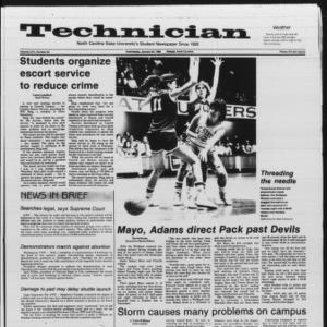 Technician, Vol. 66 No. 49 [50], January 23, 1985