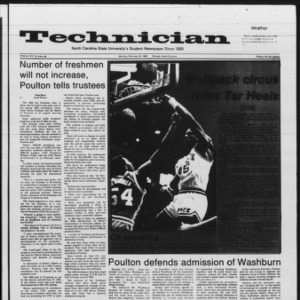 Technician, Vol. 66 No. 59 [61], February 18, 1985