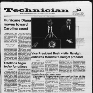 Technician, Vol. 66 No. 8, September 12, 1984