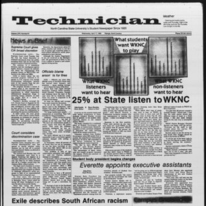 Technician, Vol. 66 No. 81, April 17, 1985