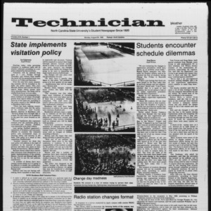 Technician, Vol. 67 No. 1, August 26, 1985