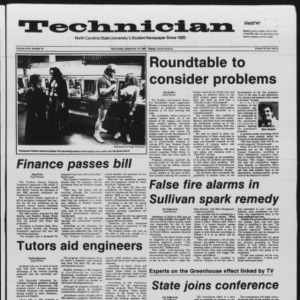 Technician, Vol. 67 No. 10, September 18, 1985