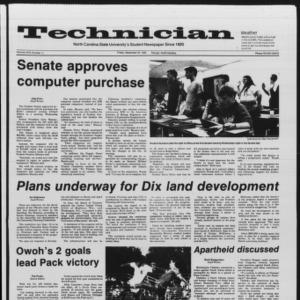 Technician, Vol. 67 No. 11, September 20, 1985