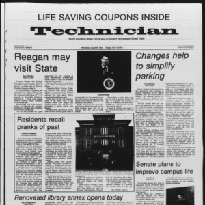 Technician, Vol. 67 No. 2, August 28, 1985
