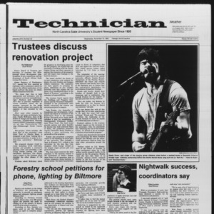 Technician, Vol. 67 No. 33, November 13, 1985