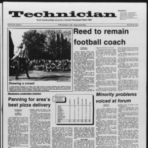 Technician, Vol. 67 No. 34, November 15, 1985