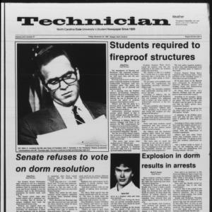 Technician, Vol. 67 No. 37, November 22, 1985
