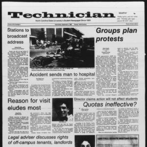 Technician, Vol. 67 No. 4, September 4, 1985