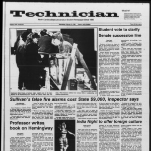Technician, Vol. 67 No. 59, February 19, 1986