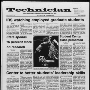 Technician, Vol. 67 No. 63, March 10, 1986