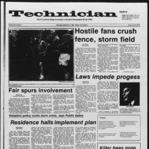 Technician, Vol. 67 No. 7, September 11, 1985