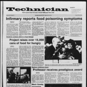 Technician, Vol. 67 No. 70, March 26, 1986