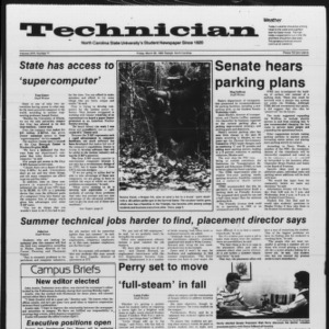 Technician, Vol. 67 No. 71, March 28, 1986