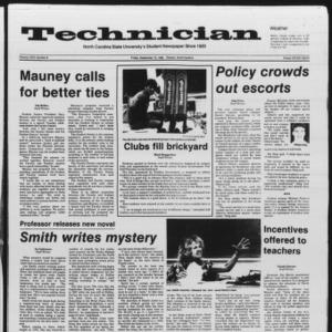 Technician, Vol. 67 No. 8, September 13, 1985