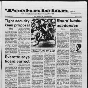 Technician, Vol. 67 No. 9, September 16, 1985