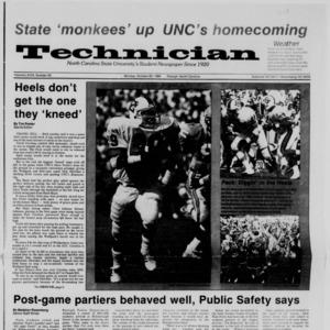 Technician, Vol. 68 No. 23, October 20, 1986