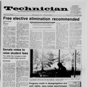 Technician, Vol. 68 No. 38 [42], December 5, 1986