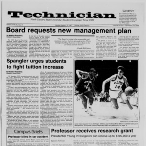 Technician, Vol. 68 No. 41 [45], January 12, 1987