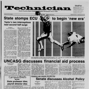 Technician, Vol. 68 No. 6, September 8, 1986