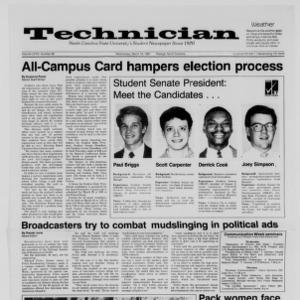 Technician, Vol. 68 No. 66 [70], March 18, 1987
