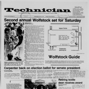Technician, Vol. 68 No. 75 [79], April 8, 1987