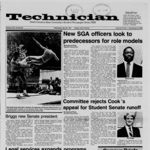 Technician, Vol. 68 No. 80 [84], April 22, 1987