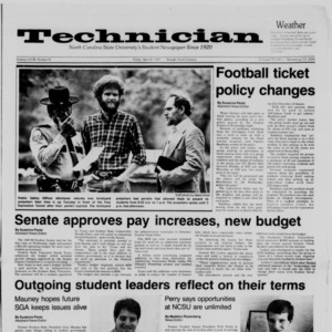 Technician, Vol. 68 No. 81 [85], April 24, 1987
