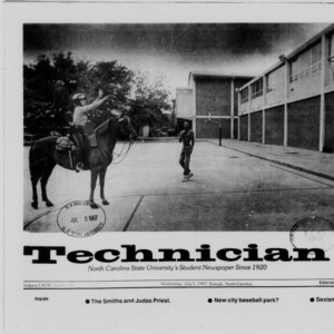 Technician, Vol. 68 No. 88 [92], July 1, 1987
