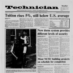 Technician, Vol. 69 No. 1, August 24, 1987
