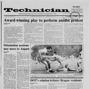 Technician, Vol. 69 No. 10, September 16, 1987