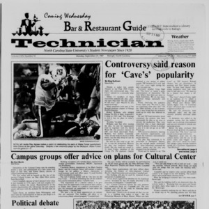 Technician, Vol. 69 No. 12, September 21, 1987