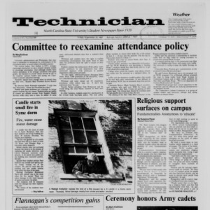 Technician, Vol. 69 No. 12 [14], September 25, 1987