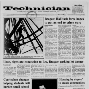 Technician, Vol. 69 No. 21, October 14, 1987